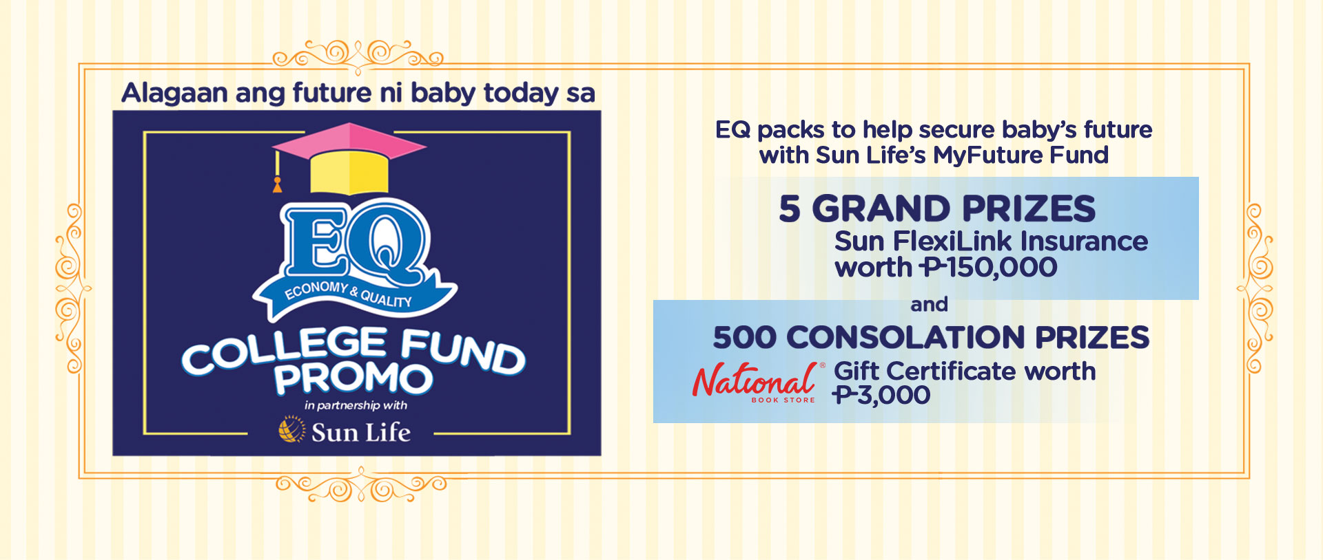 EQ College Fund Promo : EQ Disposable Baby Diapers